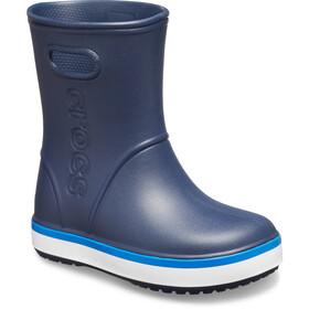 Crocs Crocband Regenstiefel Kinder navy/bright cobalt